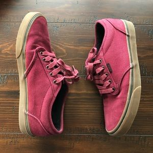 Men's Deep Red Vans